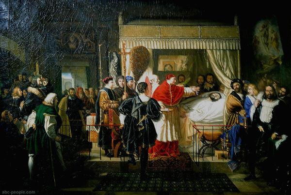 3-6 aprile 1520 Bergeret_Raphael's_Death.jpg