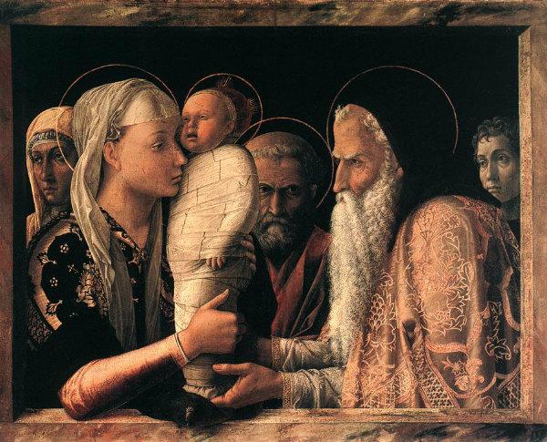 3-Mantegna, 1455 circa, tempera su tavola, 67x86 cm, Berlino, Staatliche Museen.jpg
