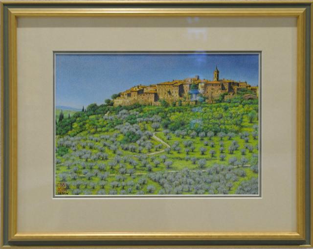 丘の上の古い町 カステルムーツィオ・トスカーナ.jpg