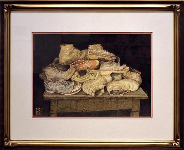 古い農民の靴  ウンブリアの博物館にて_01_GF.jpg